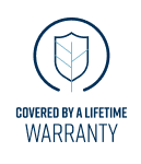 Covered by a Lifetime Warranty